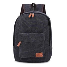 Casual Pocket Decoration Canvas Portable Bag Handbag Tote School Backpack