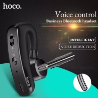 HOCO Business Bluetooth Wireless Headset Voice Control Sports Earphones with Microphone
